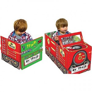 Convert Fire Truck Board Book