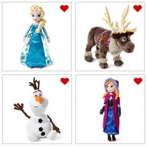 Disney Frozen Plush Dolls JCP
