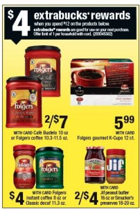 Folgers at CVS