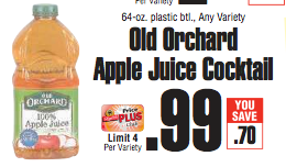 FREE Apple Juice at ShopRite Today ONLY!