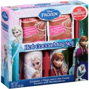 Frozen Hot Cocoa Mug Gift Set