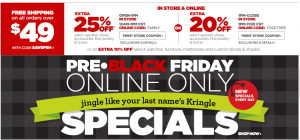 JCPenney pre Black Friday