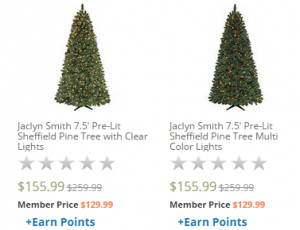 Js Prelit Trees 300x230 Jaclyn Smith 7.5 Pre Lit Sheffield Pine Trees—$129.99! (50% Off!)