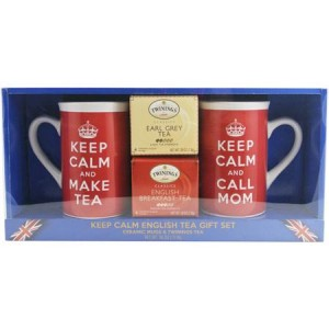 Keep Calm English Tea Gift Set