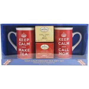 Keep Calm English Tea Gift Set