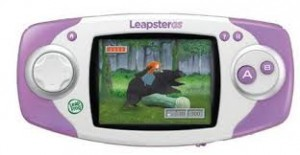 Leapfrog Leapster 2 green Includes 6 games Star Wars Toy Story 3 Cars ,
