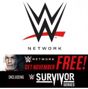 WWE Network FREE November