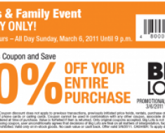 Big Lots Coupons November – This is a great way to find amazing discounts like the ongoing 20% off that seems to be valid at their locations nationwide. 20% Big Lots Coupons – , March – Save with 20 percent off your next single purchase but you have to sign up for their free card which is in fact not a credit card.