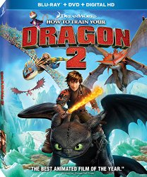 dragon 2 How to Train Your Dragon 2 [Blu ray, DVD, Digital HD] $17.99 (originally $38.99)