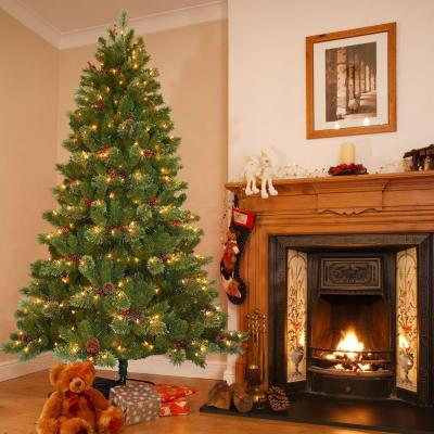 Home Depot Christmas Trees Artificial Pre Lit