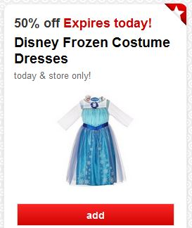 Cartwheel Disney Frozen Dress