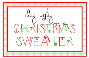DIY Ugly Christmas Sweaater