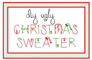 DIY Ugly Christmas Sweaater