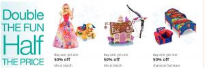 Kmart bogo 50 toys