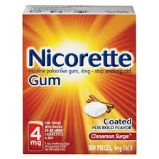 Nicorette 100 ct