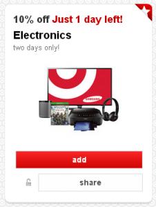 Target Cartwheel Electronics