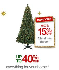 Target Christmas