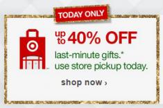 Target Last minute
