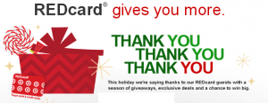 Target REDcard free drink