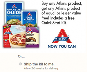 Atkins Quick Start