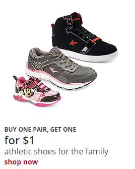 BOGO 1 Shoes Kmart