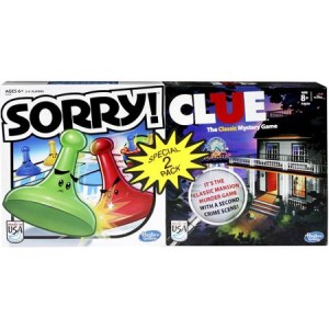 Clue Sorry 2 pack