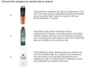 Dry Spray Sample