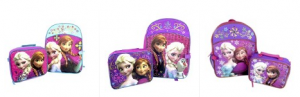 Dsiney Frozen Backpack with Lunch Kit