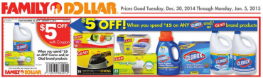 Family Dollar Clorox