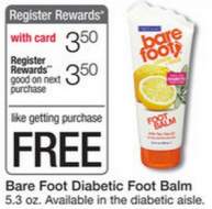 Free Barefoot from Walgreens
