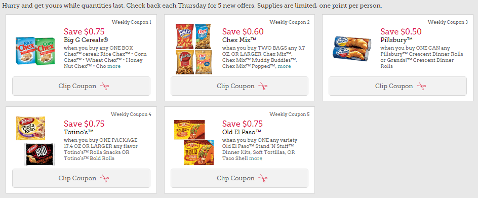 Higher Value GM Coupons