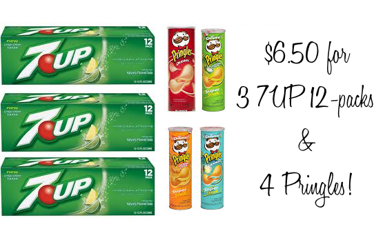 Pringles and 7up deal Rite Aid