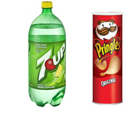 Pringles and 7up