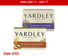 Yardley bar soap CVS