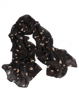 black hearts scarf