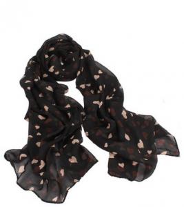 black hearts scarf