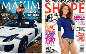 maxim and shape mags