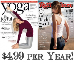 yoga journal and rolling stone