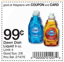 Dawn Dish Soap Only 74¢ at CV...