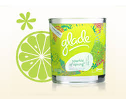 Glade Spring Collection candles