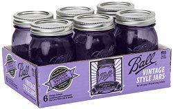 ball heritage purple jars