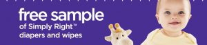 free simply right diaper sample