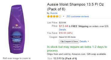 Aussie on Amazon