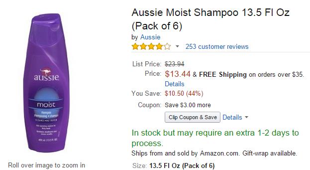 Aussie on Amazon