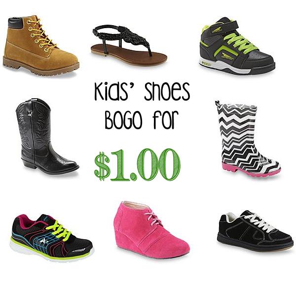 Kids' Shoes on Sale BOGO for $1 at Kmart! - Common Sense ...