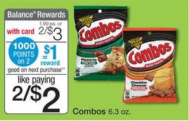 Combos 50¢ at Walgreens Next.