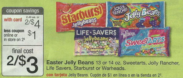 Easter Jelly Beans Walgreens