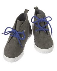 Faux Suede High-Top Sneakers - $10.39