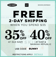 Free 2 day Old Navy