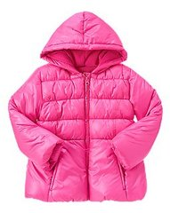 Hooded Puffer Jacket - $14.99